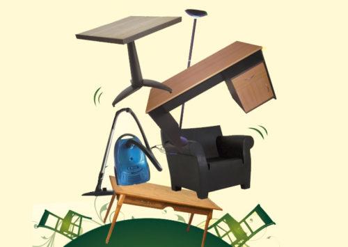 Sud-Hainaut : collecte à domicile de vos biens réutilisables