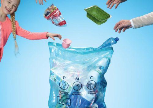 De nouveaux emballages en plastique dans les PMC en Wallonie picarde!