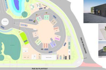 Nouveau recyparc à Mouscron : le chantier est lancé !