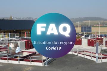 Visites au recyparc en temps de Covid – FAQ