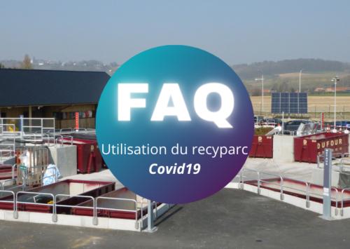 Utilisation des recyparcs en temps de Covid – FAQ