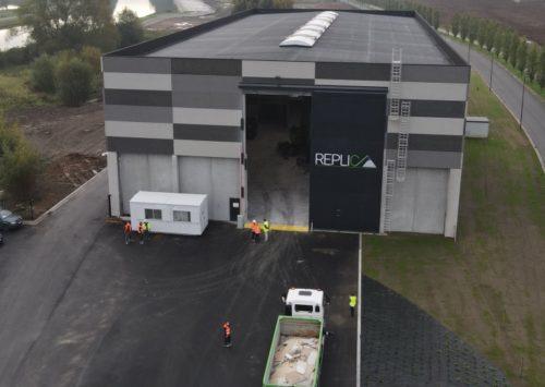 Replic, un centre de recyclage du plâtre unique en Europe