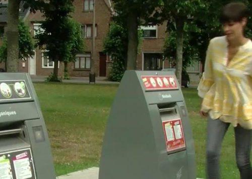 Nouveaux points d'apport volontaire pour les déchets résiduels à Comines et à Mouscron