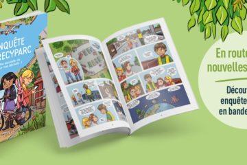4 bandes dessinées pour (re)découvrir le monde de l'eau et des déchets en s'amusant