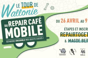 La tournée du repair café mobile fait halte dans la région