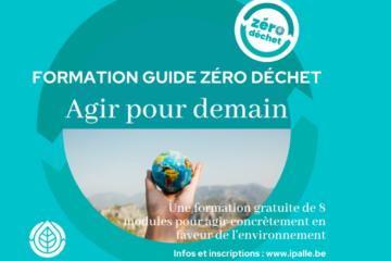Nouvelle formation de Guide Zéro Déchet – les inscriptions sont ouvertes !